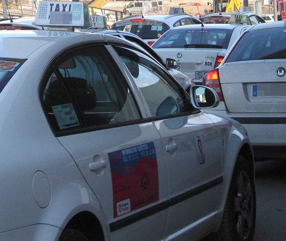El precio cerrado llega al taxi de Zaragoza