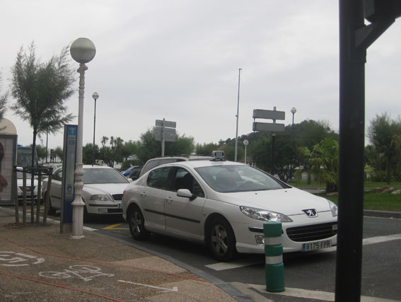 Nueva agresión a una taxista, esta vez en Donostia