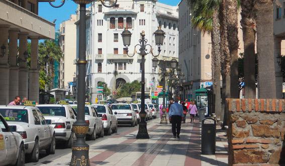 Desconvocada la huelga de taxistas en Ceuta