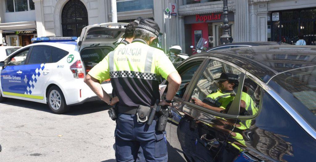 La Guardia Urbana interpone 62 denuncias a VTCs en un solo día