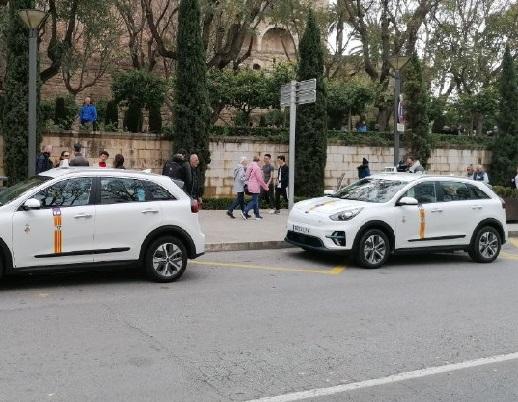Ya pueden prestar servicio todos los taxis de Palma