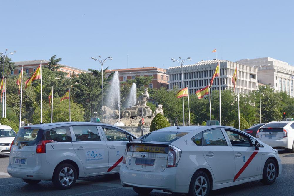En detalle la nueva Ordenanza del Taxi de Madrid