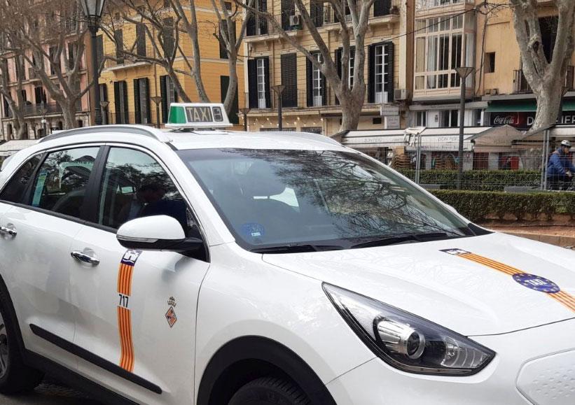 Los taxistas de Palma ya pueden solicitar sus ayudas