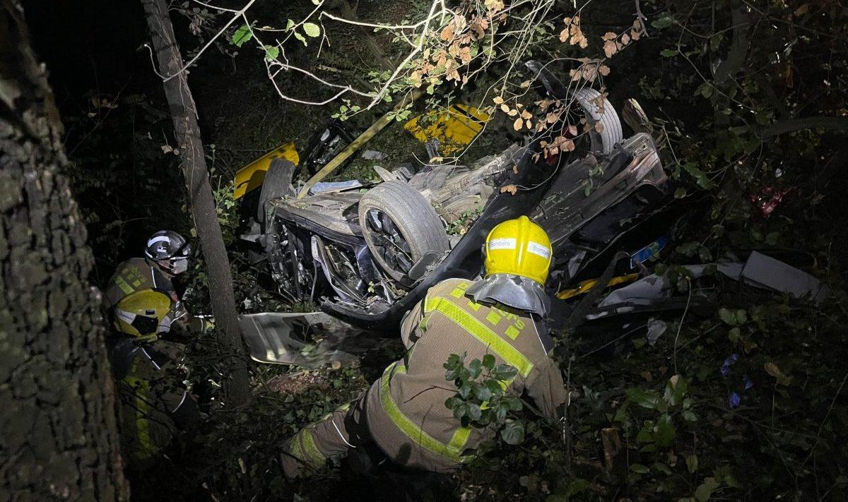 Fallece el conductor de un taxi en un accidente de tráfico